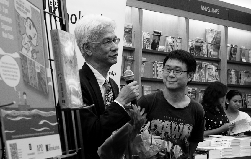 Kenny Chan (Kinokuniya) & Sonny Liew