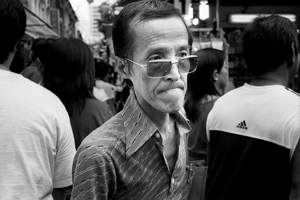 Bloke, Temple Street, Chinatown, Singapore, 2008
