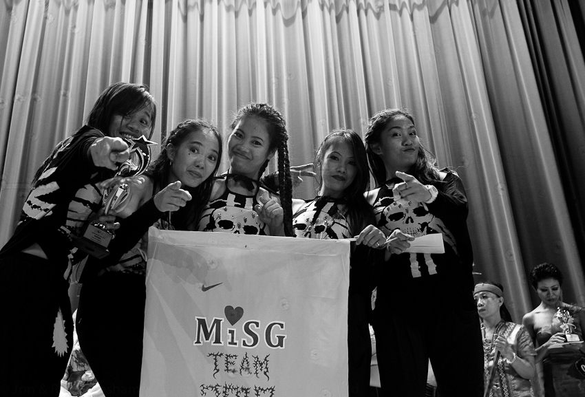 M.I.S.G win the dancing competition