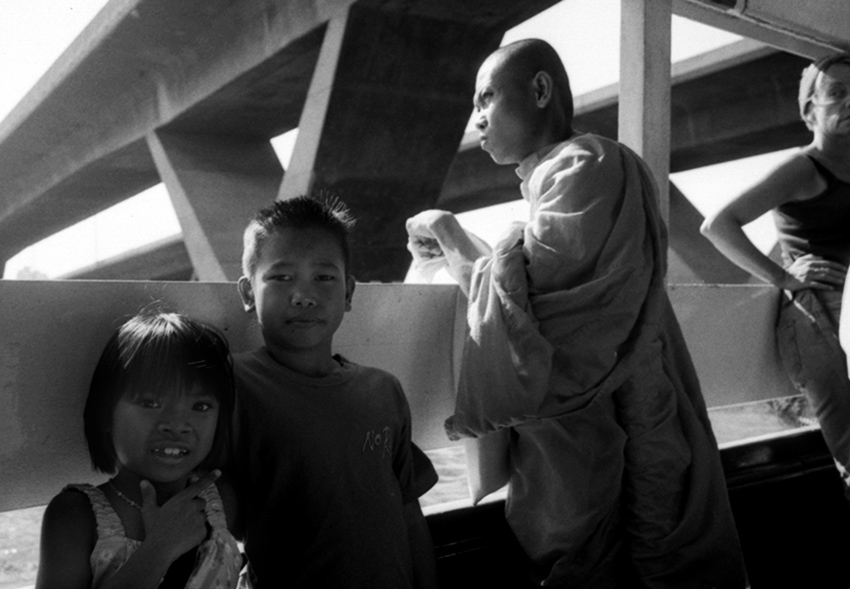 Ferry, Chao Phraya River, Bangkok 2002