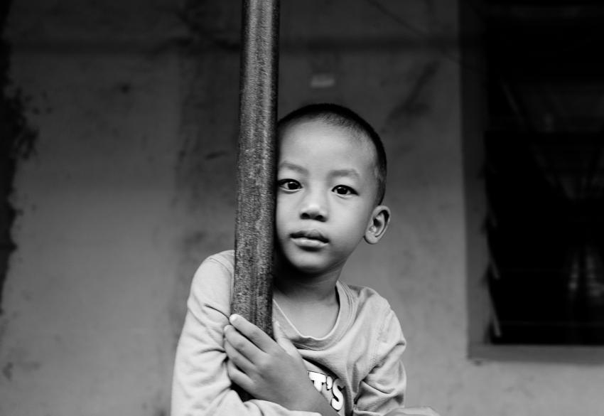 Next door Neighbour;s kid, Jakarta Selatan 2014