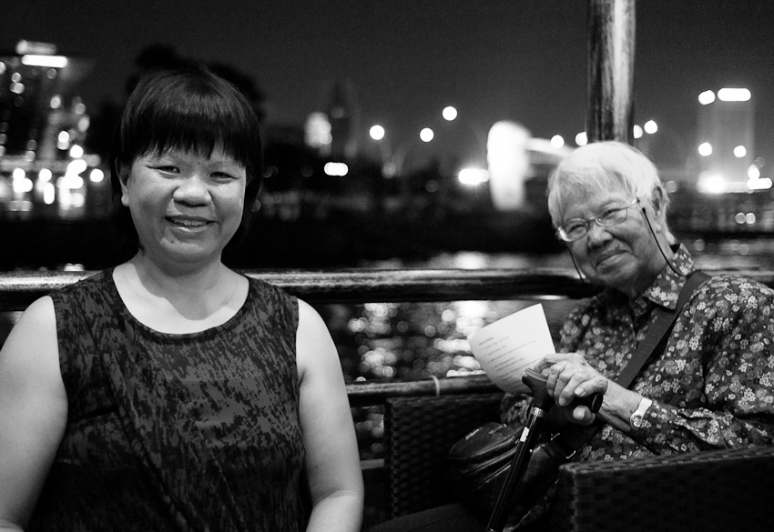 Verena Tay & her mother