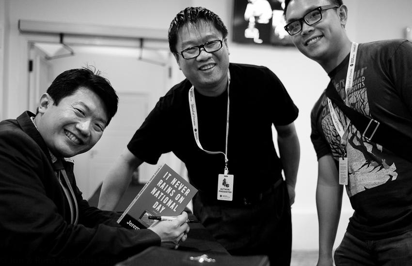 Jeremy Tiang, Desmond Kon & Joshua Ip