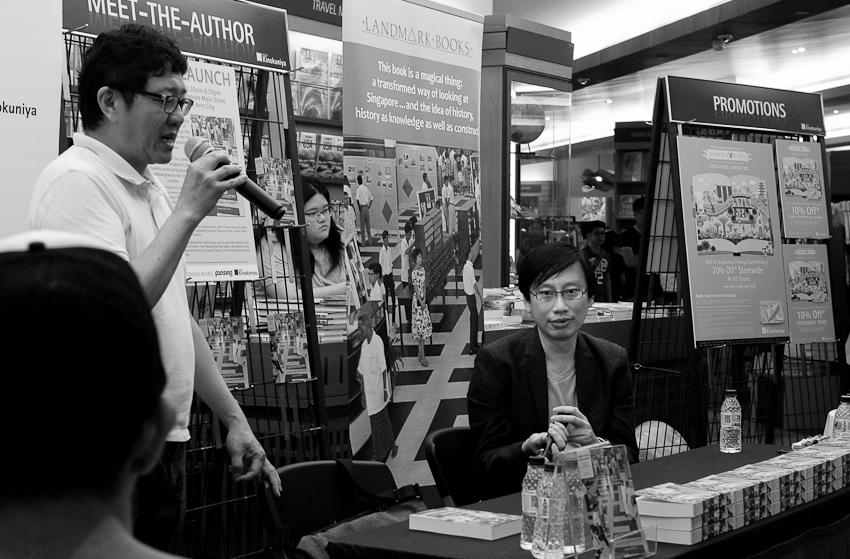 Goh Eck Kheng, Publisher, & Gwee Li Sui, Editor