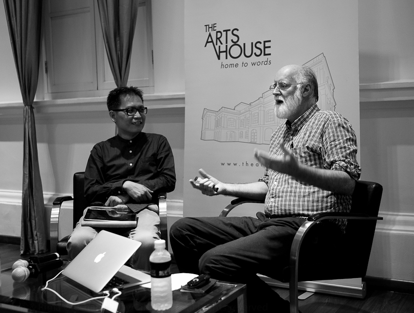 World Lit featuring Nicholson Baker at The Arts House, Singapore