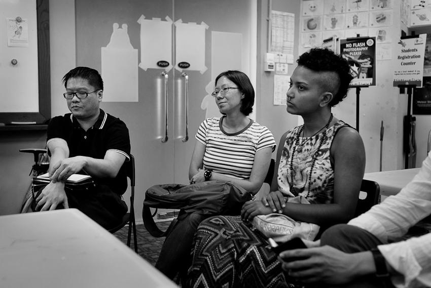 Desmond Kon, Ann Ang & Deborah Emmanuel