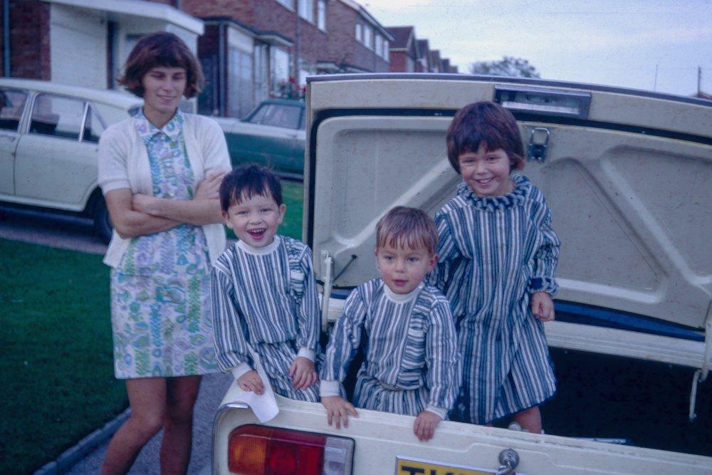 Gill, Jon, Jerry & Ilona