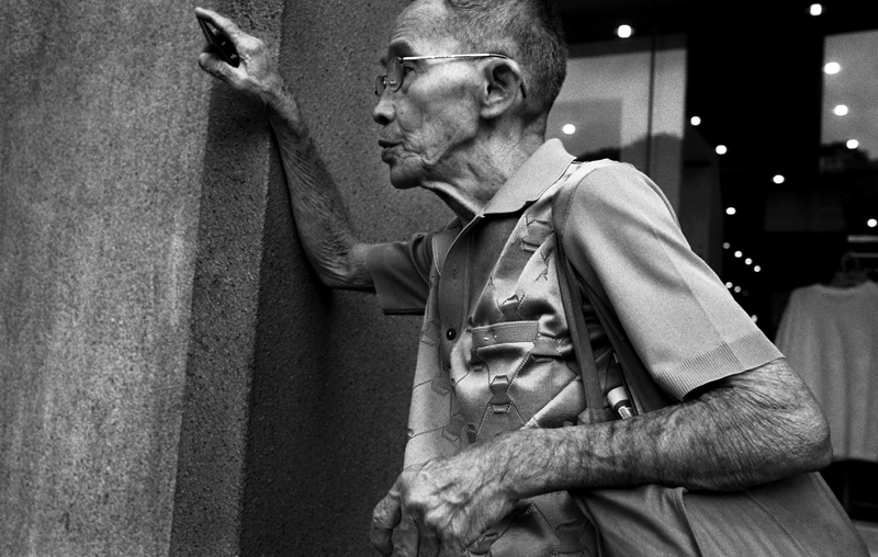 Bloke, New Bridge Rd, Singapore, Leica M9