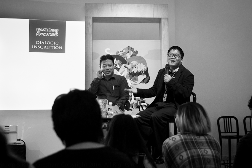 Desmond Kon Zhicheng-Mingde launches three books with Eric Tinsay Valles