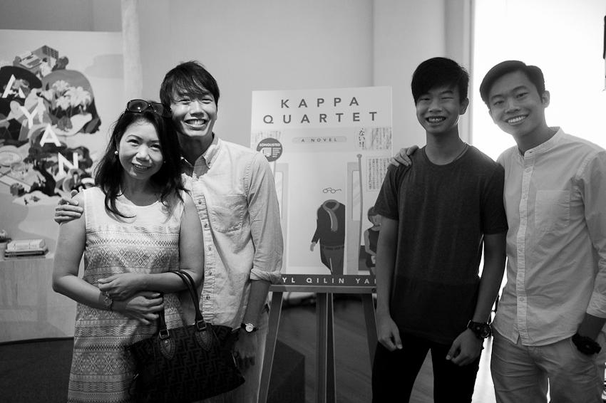 Daryl Qilin Yam & family