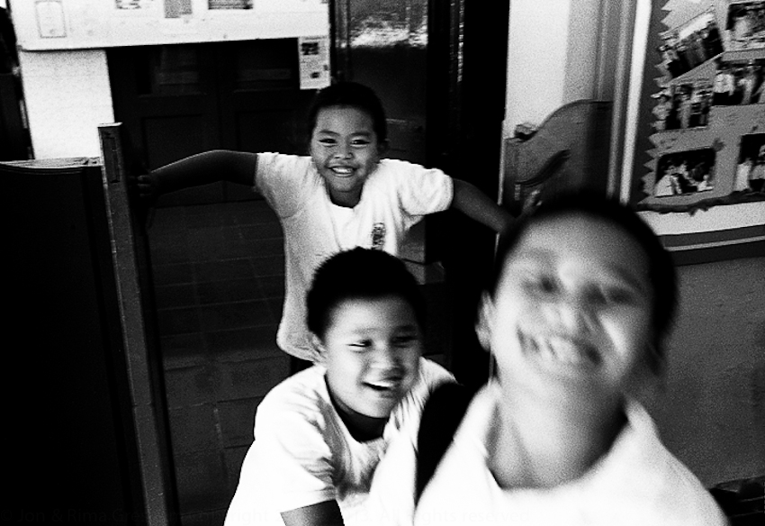 Kids at President Obama's former primary school Menteng SDN 01, Menteng, Jakarta 2008
