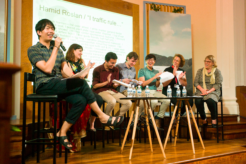 Daryl Qilin Yam presents the Literature Across Frontiers & Sing Lit Station Translation Bootcamp at Singapore Writers Festival - Nov 2017
