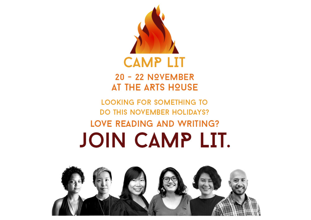 Sing Lit Station & Book A Writer presented Camp Lit in Nov 2017