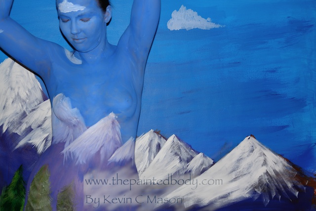 Mountains Limited Edition 60x90 cm On canvas. (Watermark will not be in canvas version)