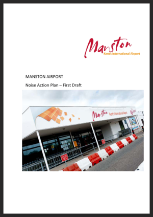 Manston Draft Noise Action Plan 2014 (51 pages, 1.2Mb PDF)