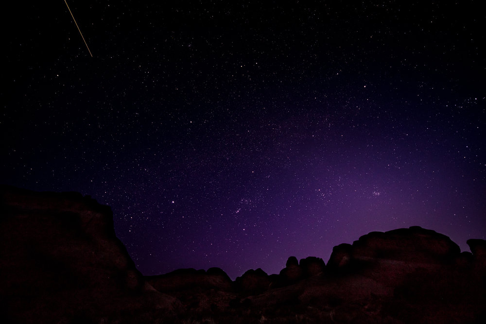 Stargazing at Devil's Garden, Arches National Park