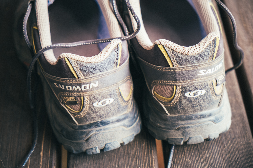These Salomons and I were not simpatico; thankfully REI has a good return/exchange policy...