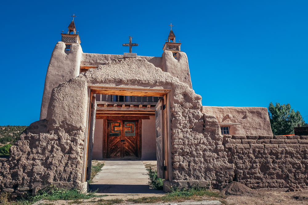 San Jose de Gracia Church in Trampas, NM...