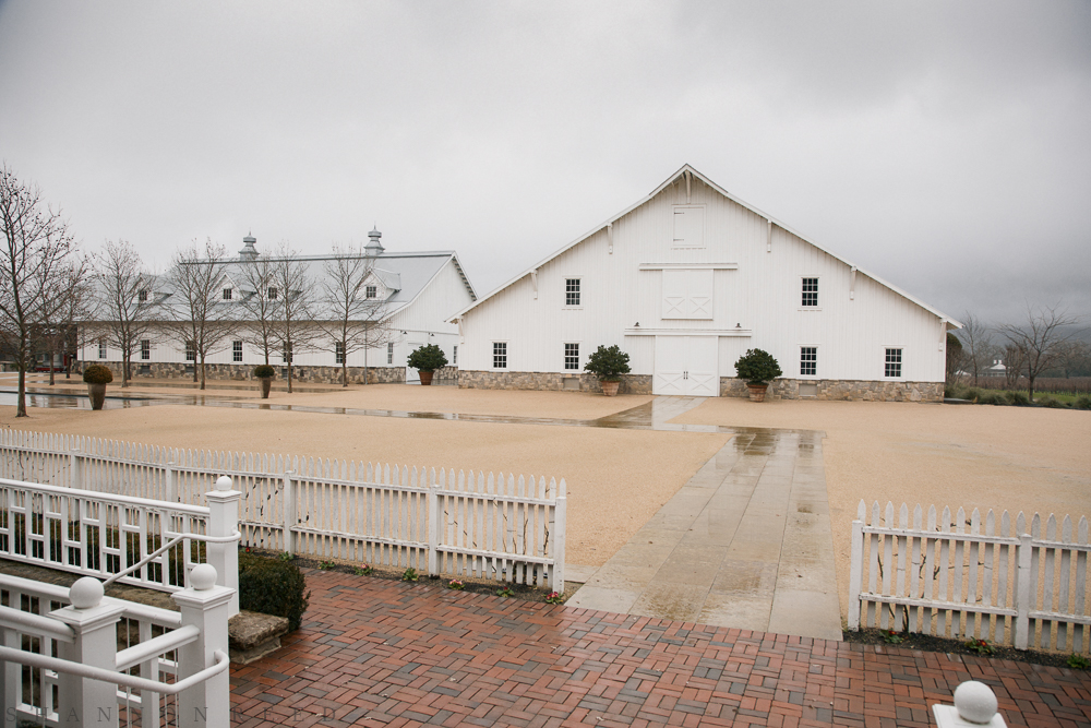 The fermentation barns...