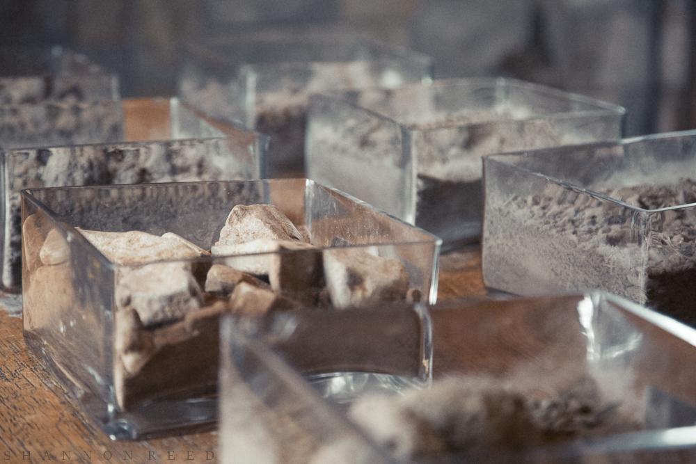 Soil samples...