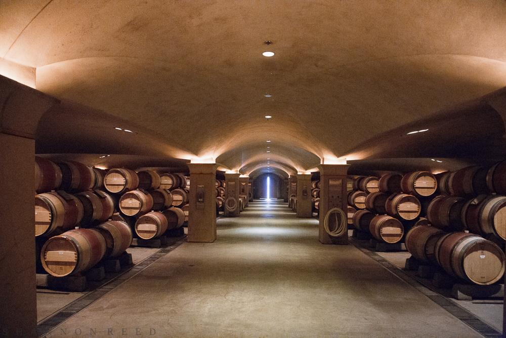 The barrel cellar...