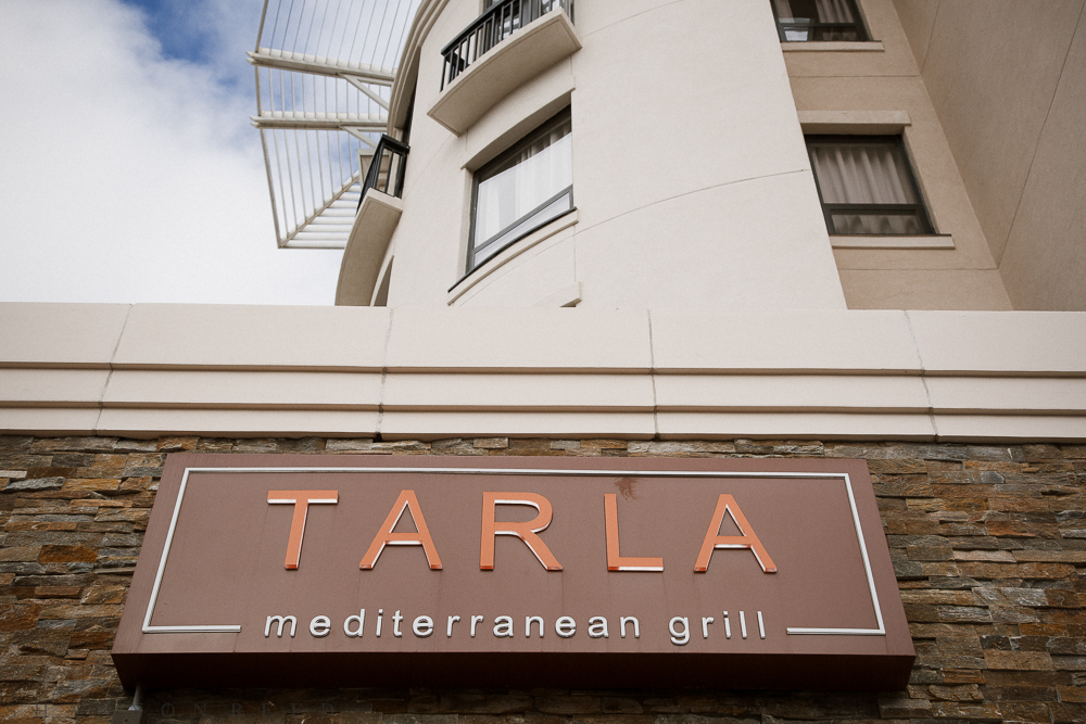 Tarla Mediterranean Grill in downtown Napa... very yummy.