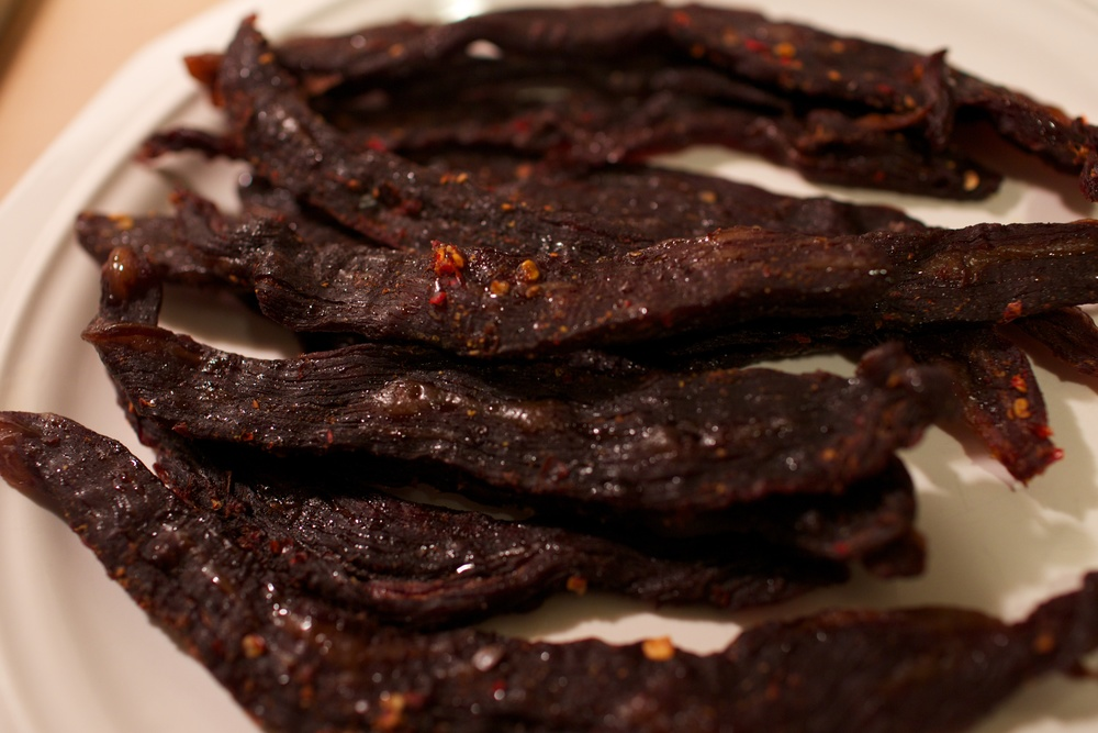 Spicy Alton Brown Beef Jerky - All done!