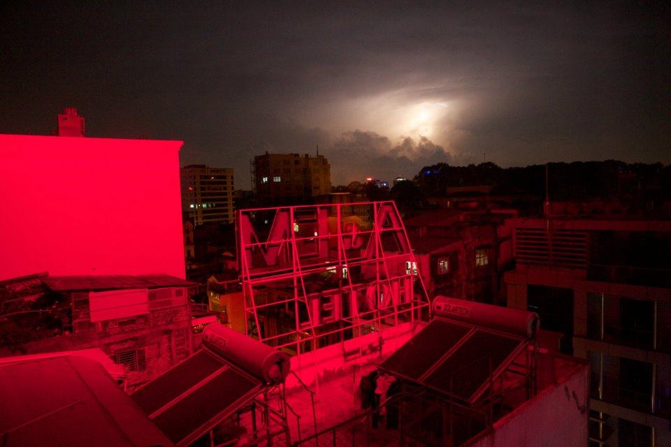 Lightning in Saigon