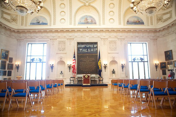 US Naval Academy Memorial Hall