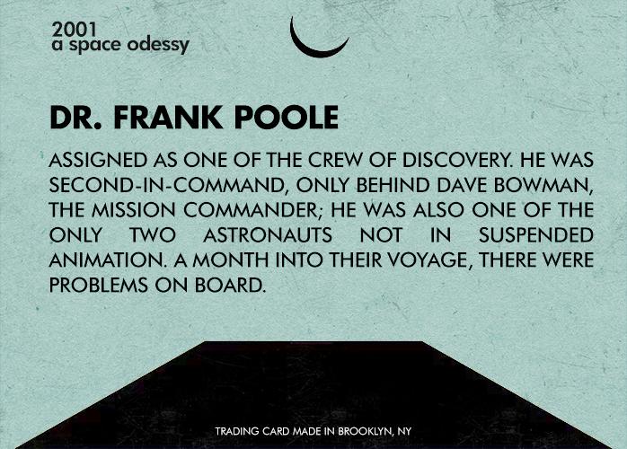 #11 - Dr. Frank Poole - Back