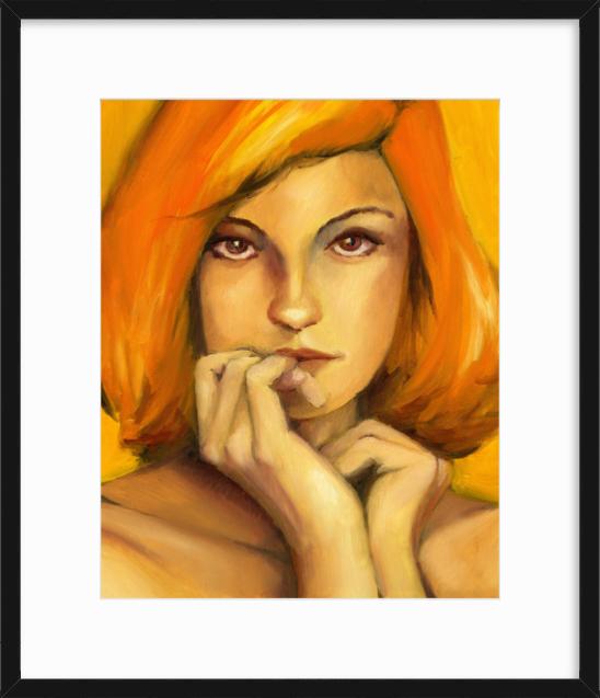 Yellow Painting Framed-art_david-jackowski_alvatron-studio.png