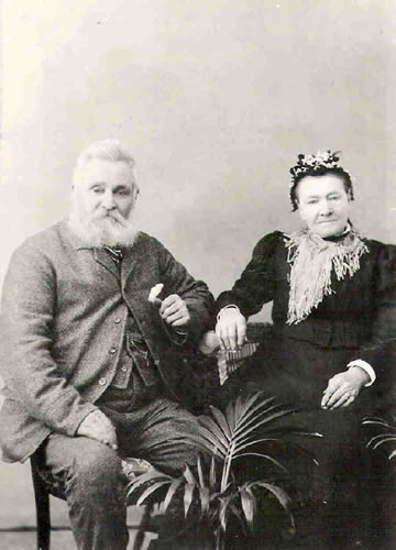 James and Hester Carpenter (formerly Gadd)