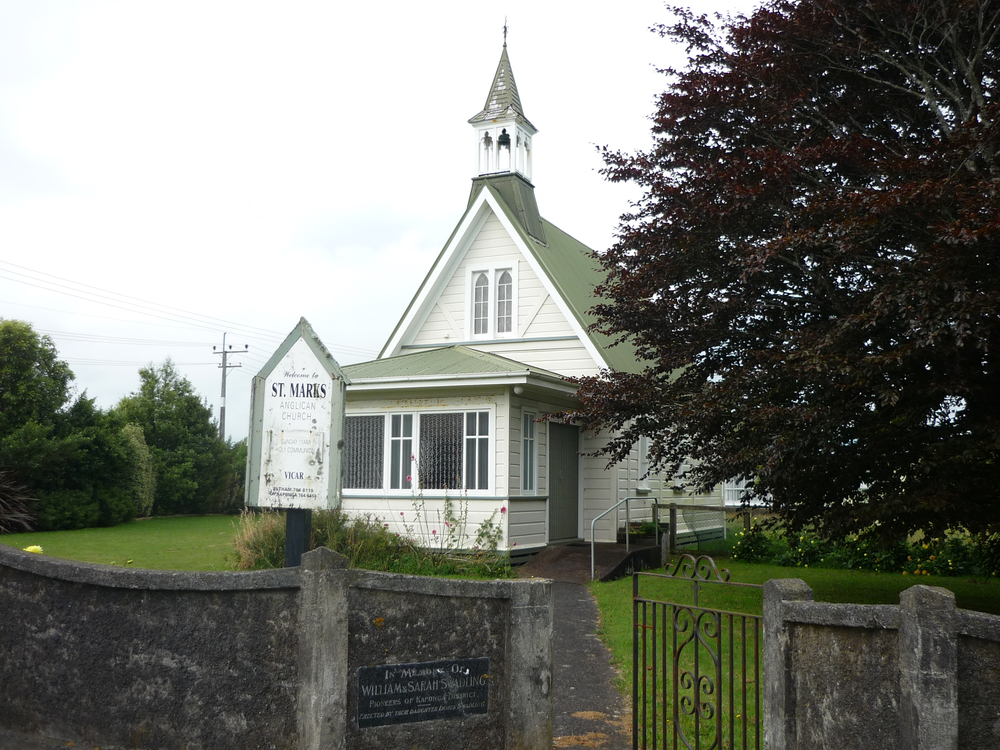St. Marks Church, Kaponga