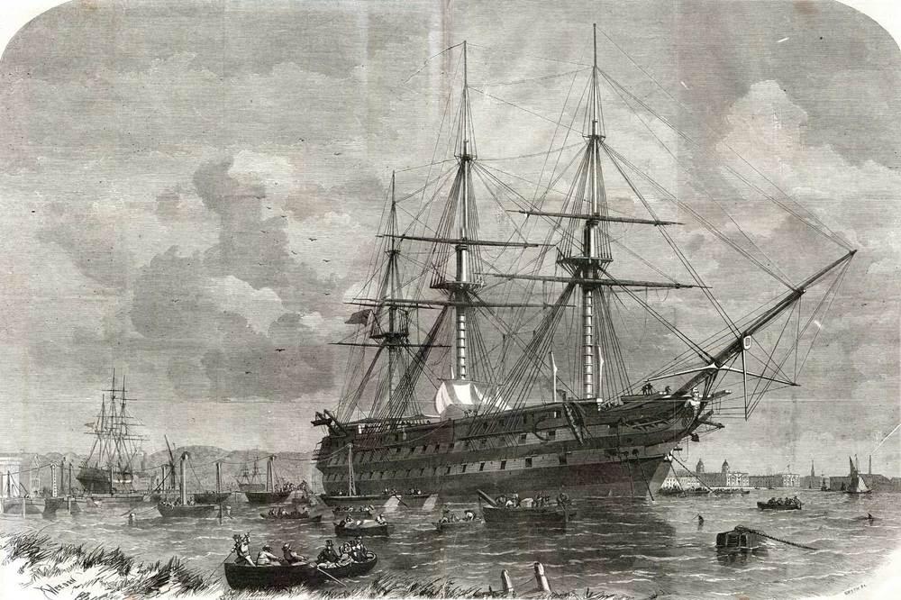 Image result for HMS Agamemnon crimea pics
