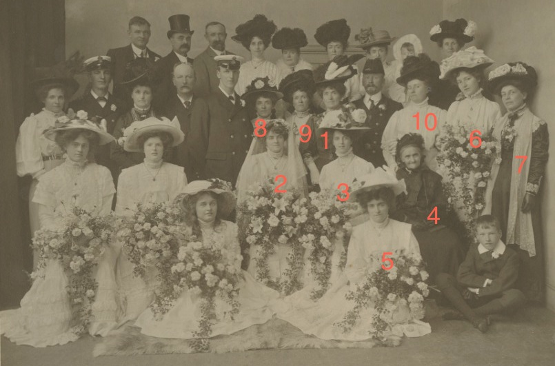 Wedding of Kathleen Gertrude West and George Henry Dearnley