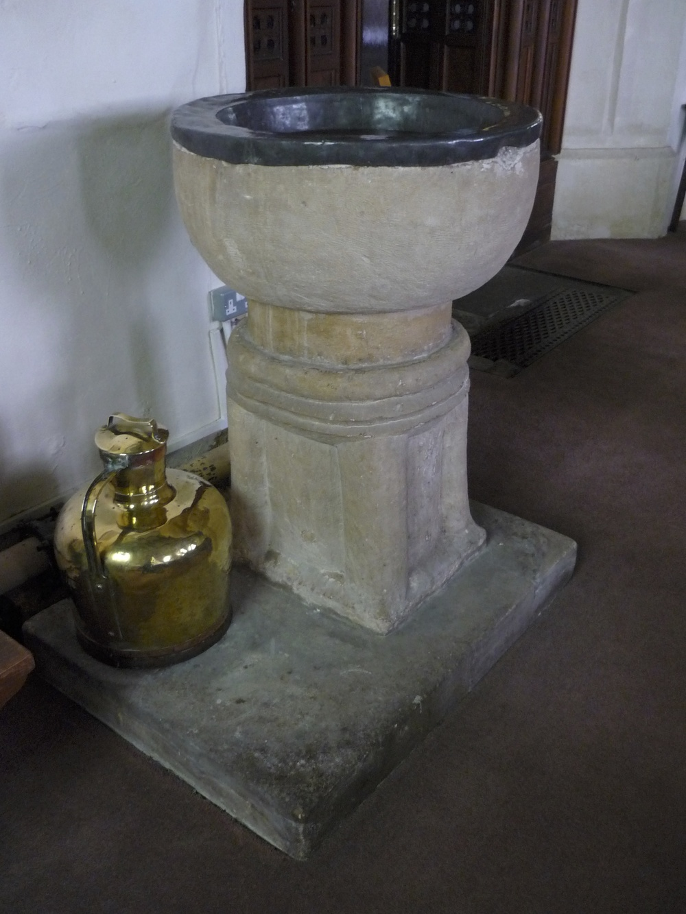 Font in Saint Mary the Virgin Parish Church, Stanton Drew