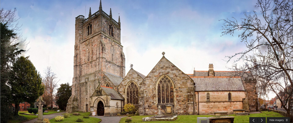 St. Oswald's Parish Church, Oswestry, Shropshire