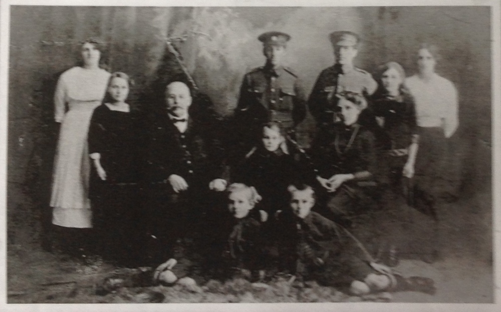 Edward Burr and Elizabeth Ann Foreman (nee Ford/Faull)) and their family