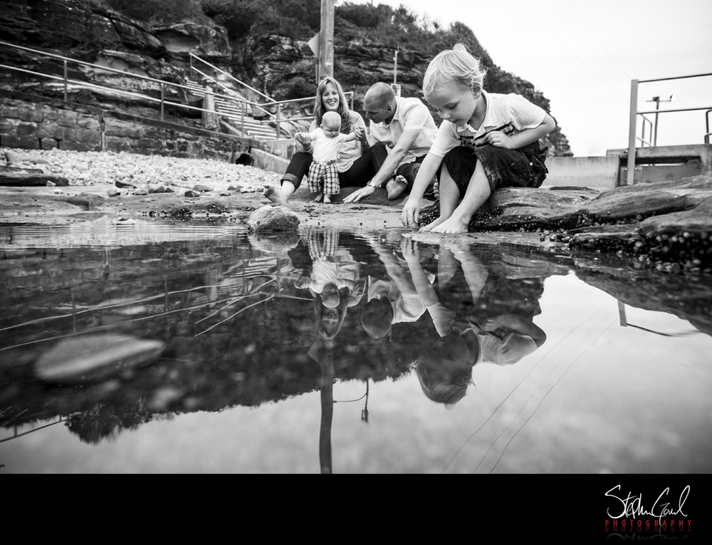 freshwater beach family photos fun unique sydney nsw portrait