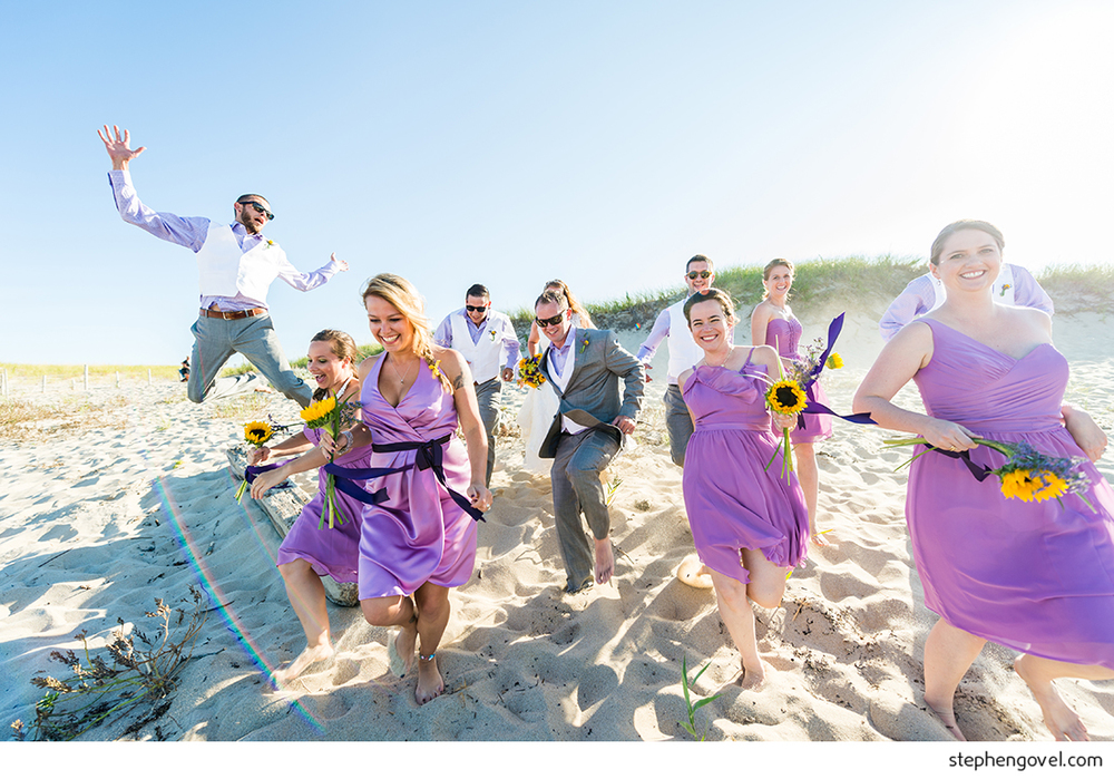 cape cod wedding weekend fun party provincetown truro beach