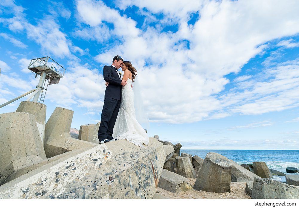 manasquan point pleasant new jersey wedding chanel drive rustic river house beautiful