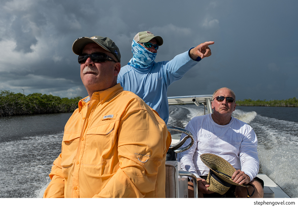 florida keys storm fishing everglades rich smith