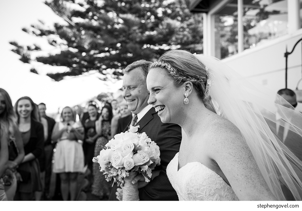 jonahs whale beach wedding northern beaches gumtree forest