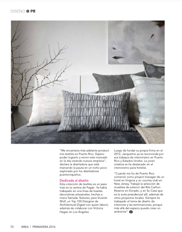 JAX+HOME COLLECTION | Area Magazine Primavera 2016