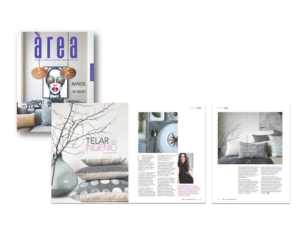 Area Magazine | DISENO Primavera 2016