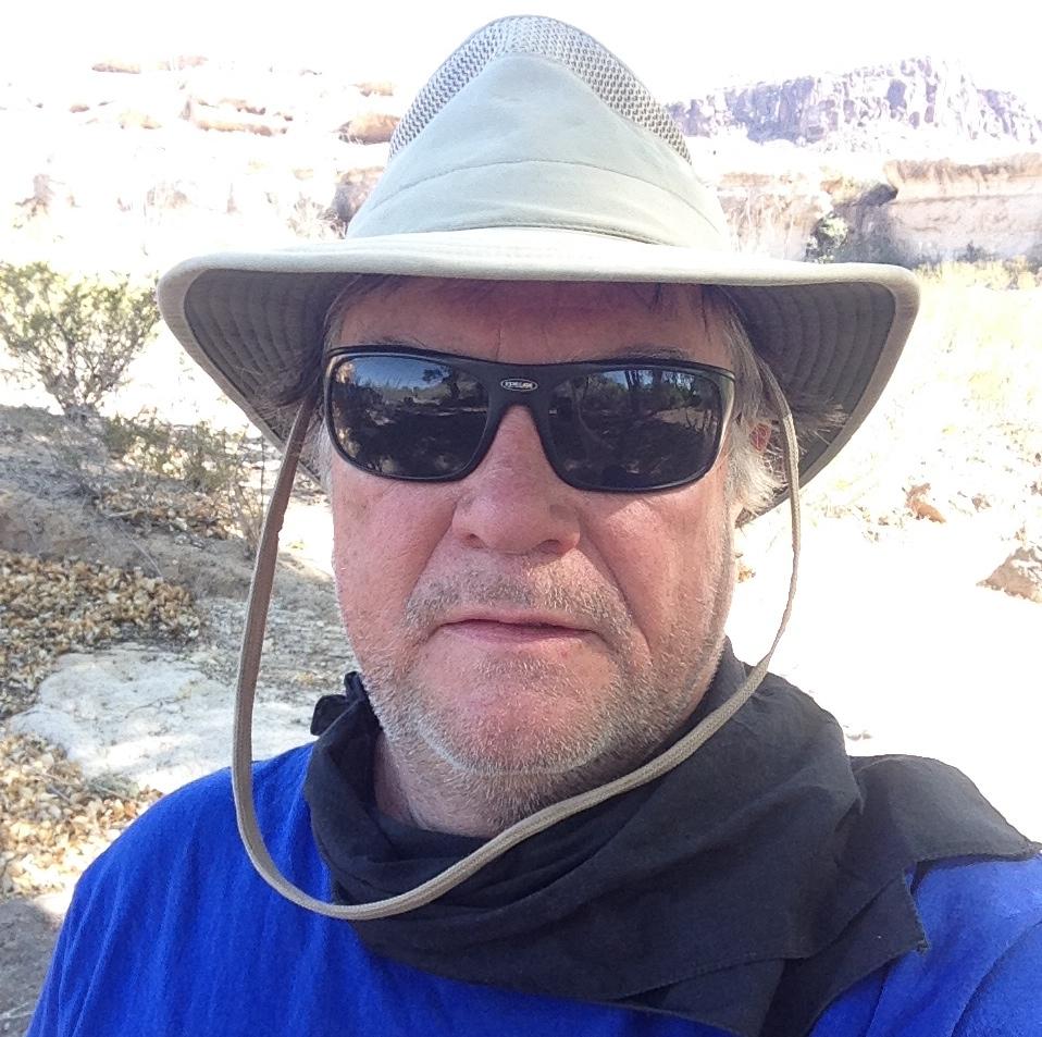 selfie at Big Bend Ranch 2014