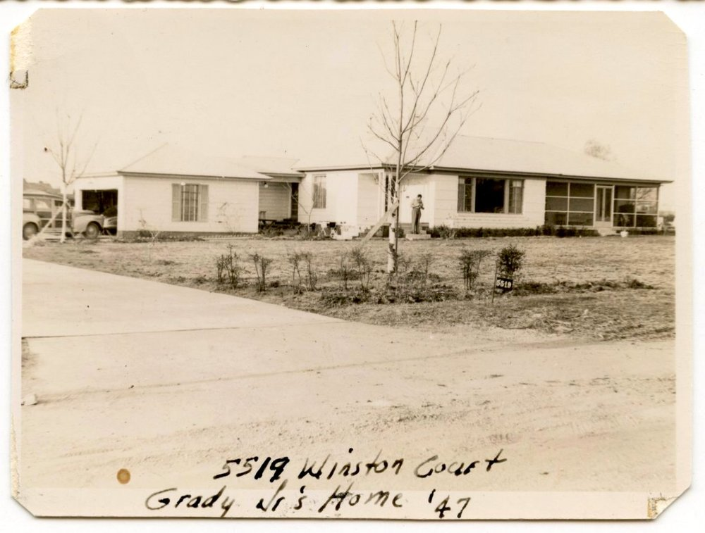 Original house 1947