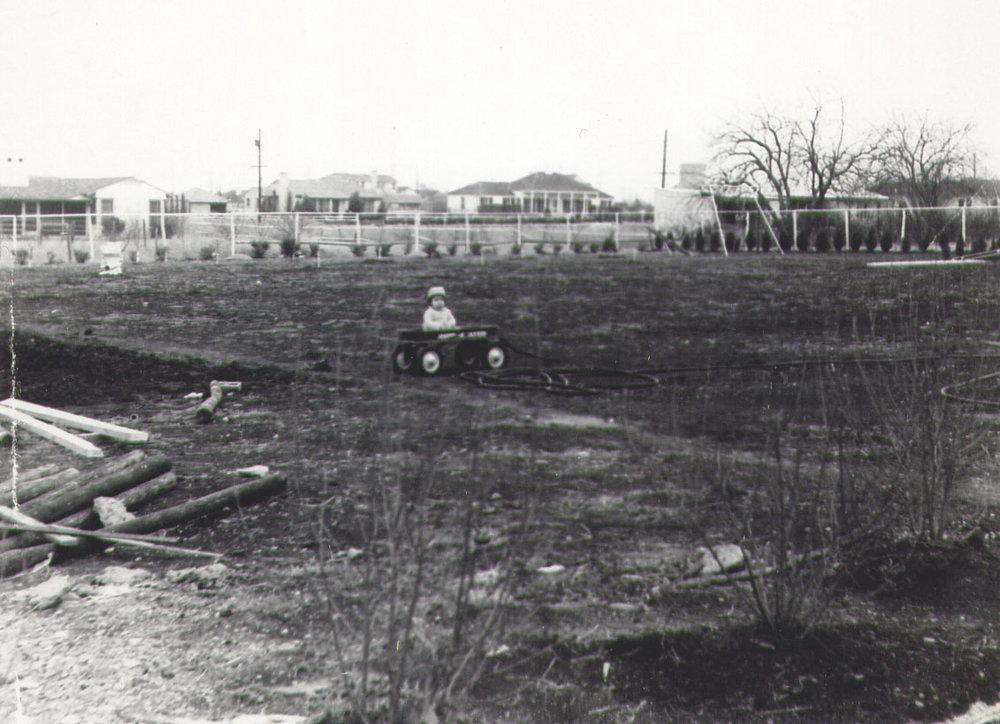 Vacant lot 1947