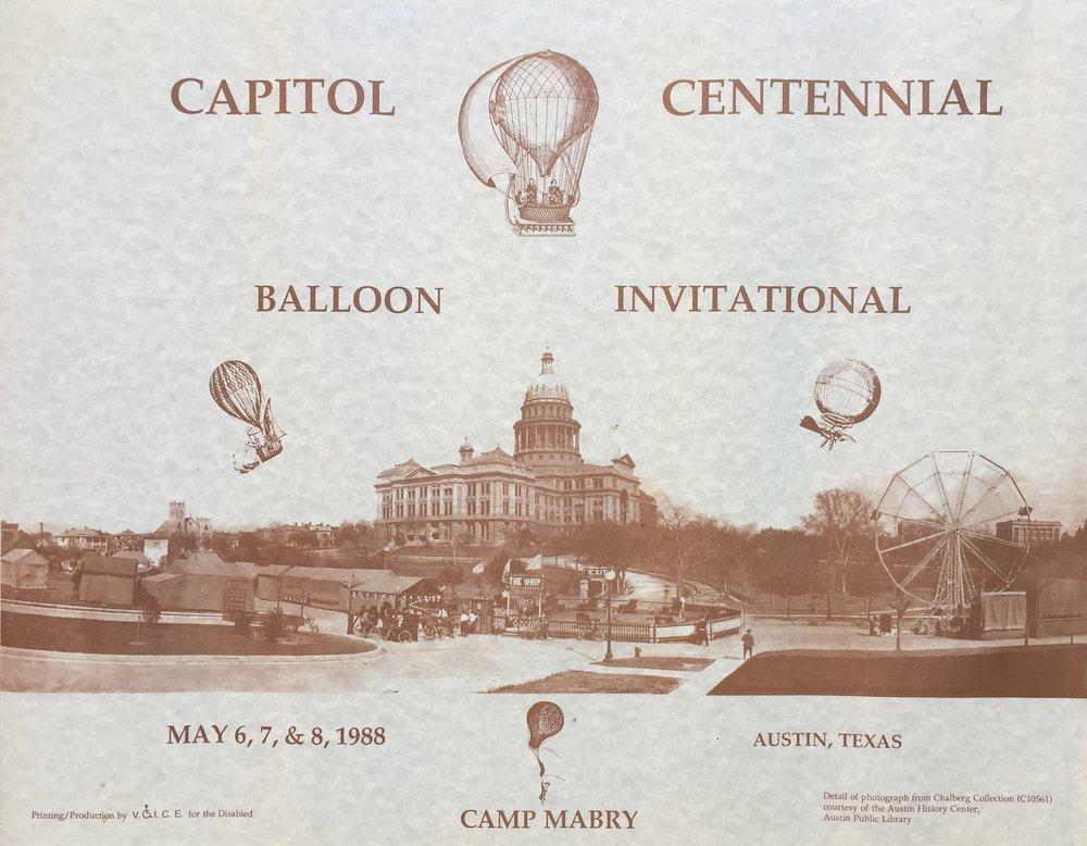 Capital Centennial Balloons 1988