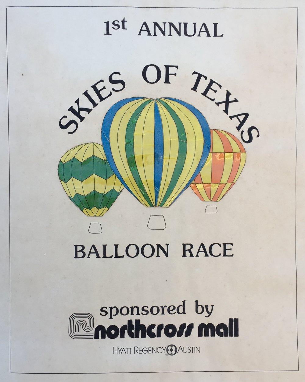 Skies of Texas Balloon Race 1983